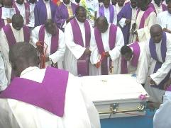Fr Abraham lowered