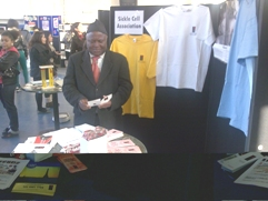 James at Thames College Exhibition