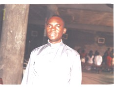Father Gilles Ngwa, Simbock Sts. Peter and Paul Parish Priest.