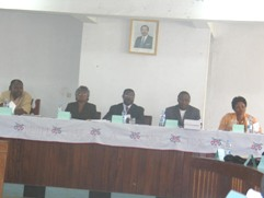 Deliberations on the low execution of NW PIB