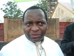 Mgr. Pierre Vital Nkenglifack, Apostolic Adminstrator Batouri Diocese