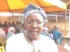 Véronique Tonleu, Diocesan President CWA Bafoussam