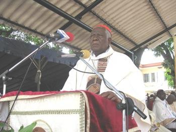 Cardinal Tumi speech