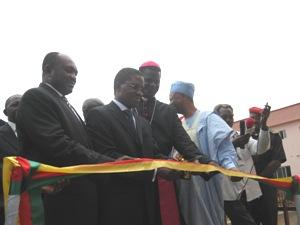 Inauguration hospital