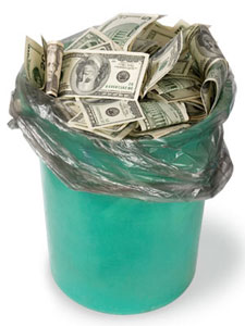Money bucket