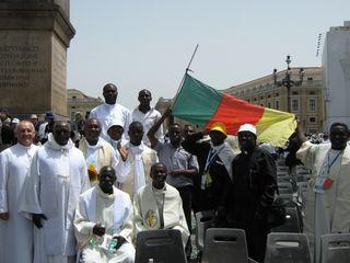 Rome 338 la delegation camerounaise fait honneur +á son Pays