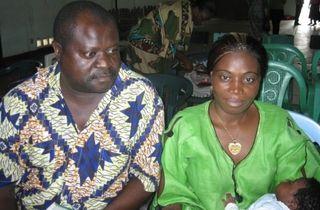 Alain and Linda Bwomda