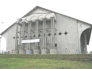 Mamfe St. Joseph Cathedral under construction