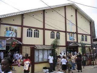 Leglise St Charles Lwanga
