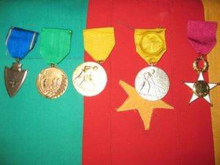 Sample of medals usually awarded (1)