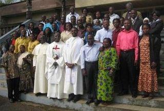 Participants at The Faithful House Workshop