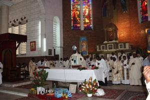 Priest from Douala Archdiocese and beyond participated massively in the event