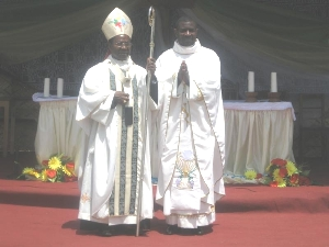Archbishop and the newly ordained