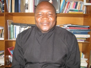 Rev. Fr. Ernest Timchia Tubuo Cathalic Charismatic Renewal Chaplain