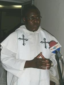 Fr Gabriel at sendoff