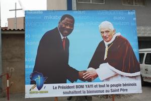 Pope and President of Benin