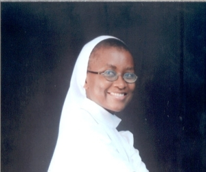 Sister Valerine Recently Professed Her Final Vows