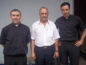 Workshop Facilitators- Luigi Filia, Fr. Ramon Trujillo and Ricardo Fuentes