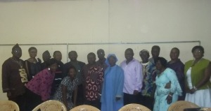 SOme participants at meeting