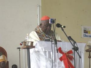 Christian Cardinal Tumi