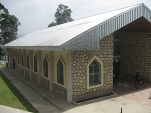 Partial view of the newly donated Chapel at the Shrine