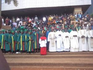 Laureats & Officiating ministers