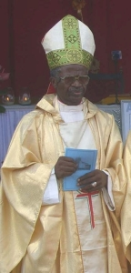 Bishop of Mamfe, Bishop Lysinge