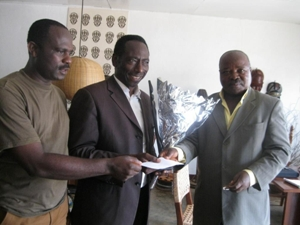 Film Producer -Chop Samuel (middle)of rape and Incest-Award Winning Film