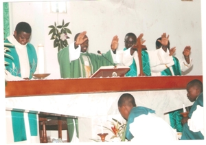 Ith Mass of Father Gheghen in Yaounde