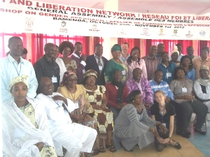 Participants at Workshop