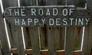 The road of happy destiny