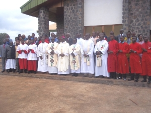 Officiating Ministers & BIROCOLEXANS after opening Mass