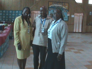 Sr. Mercy Muthoni MSHR, Kumbo Diocese, Mr. M Georges Alex Mbarga from Mbalmayo Cameroon and Mrs Rosaline N. Menga, Great Soppo Buea Cameroon