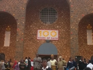 100 years of Catholic Faith in KUmbo