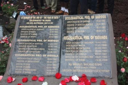 Year of Faith Memorial