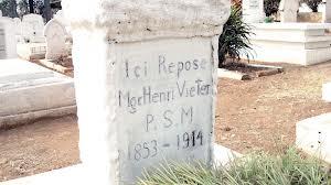 Tomb Mgr. Henri Vieter