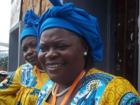 CWA National President, Prof. Theresa Nkuo-Akenji