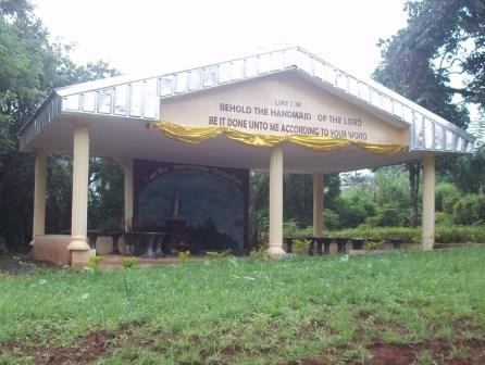 CWA Golden Jubilee Project Grotto at Mama Foncha's residence (5)