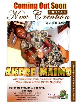 Debut Album_New Creation 2012_Akere Maimo 2