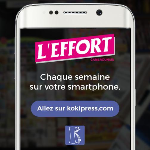 L'Effort Camerounais est disponible sur Kokipress.com