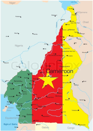 Cameroon map1
