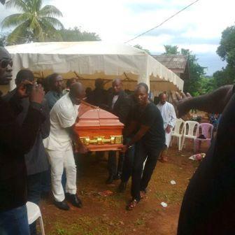Burial Olivier