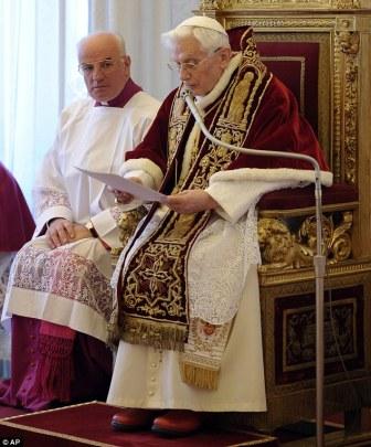 Pope Benedict resignation (web)