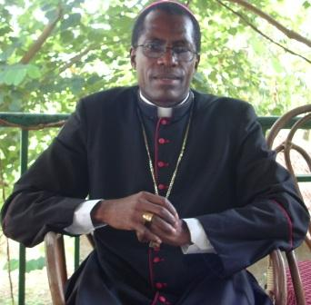 Bishop of Bafia  Mgr. Bala