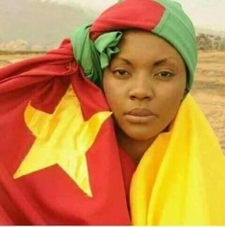 Cam flag  lady